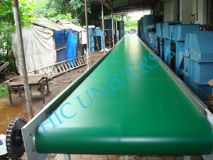 Fabric Ply Conveyor Belt