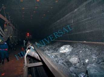 Self-Extinguishing Underground Rubber Belt